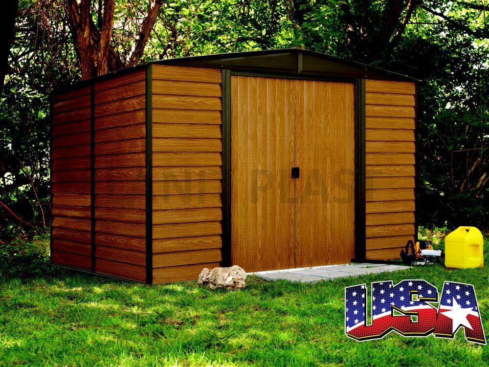 Kovový zahradní domek ARROW EURO DALLAS 1012 (11,04 m2)