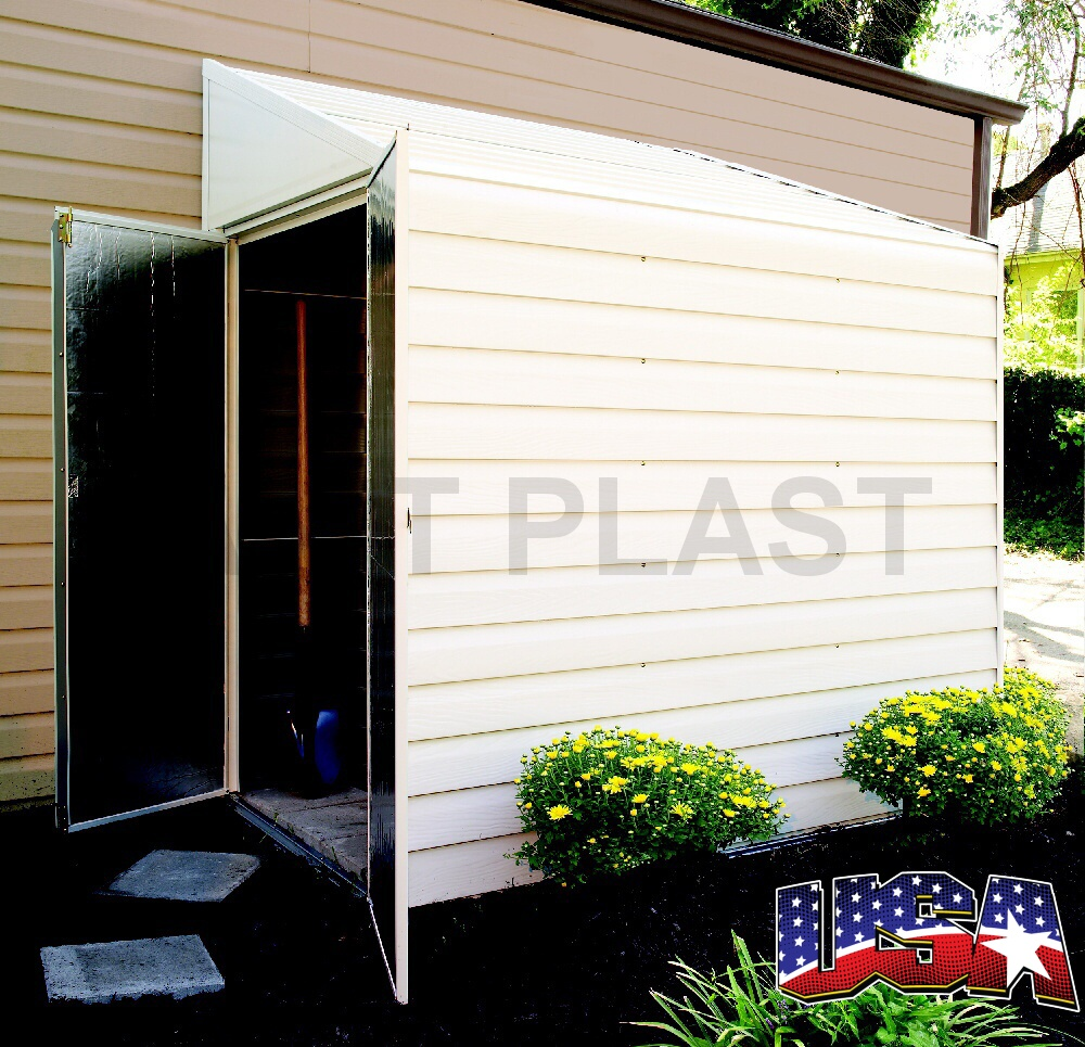 Kovový zahradní domek ARROW YARDSAVER 47 (2,55 m2)