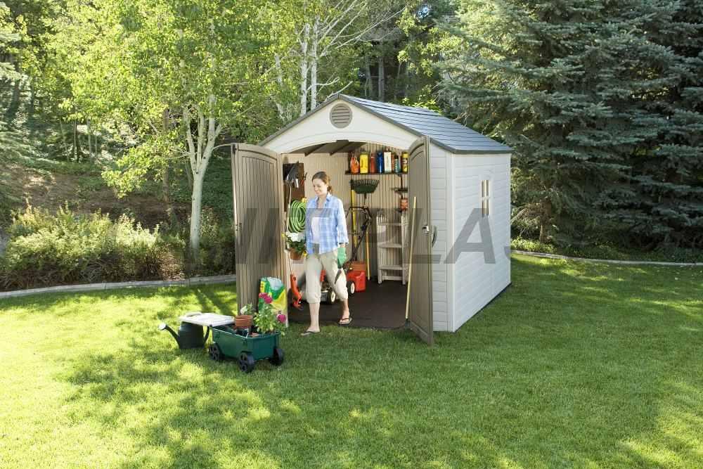 Zahradní domek plastový Lifetime 6405 Classic line