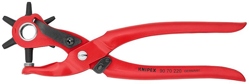 KNIPEX Revolver.děrovací kleště 220mm 90 70 220