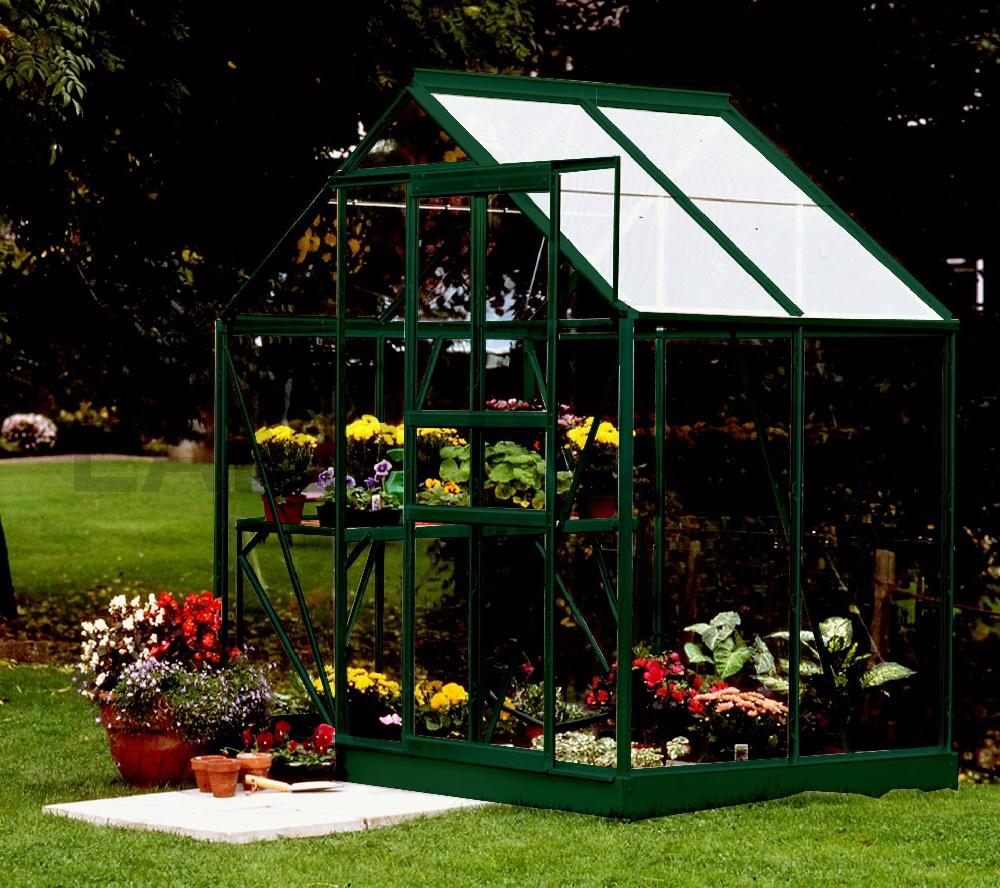 Skleník VITAVIA VENUS 2500 matné sklo 3 mm zelený