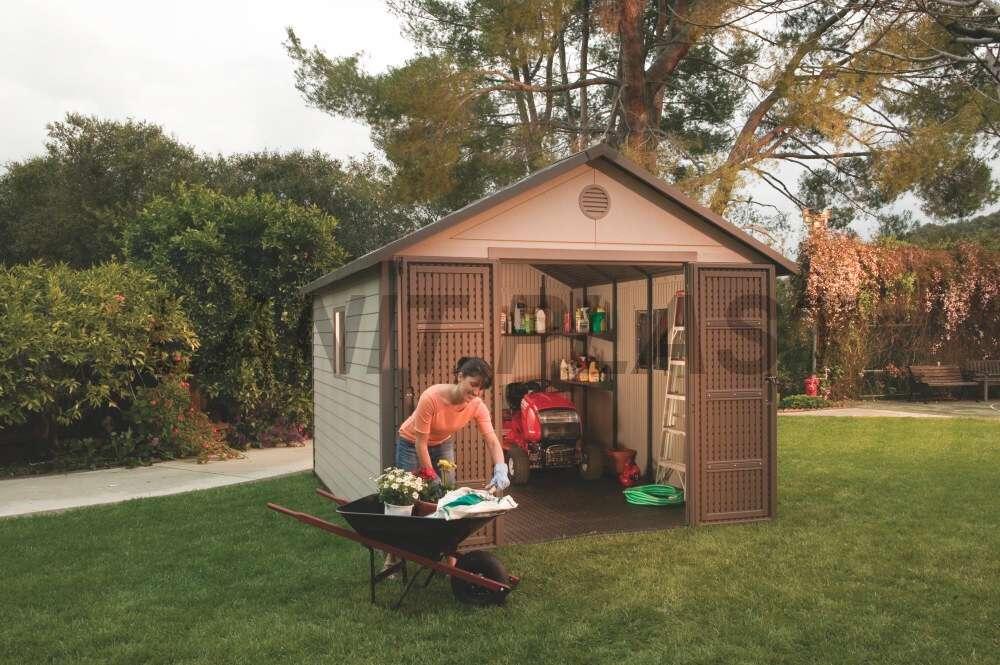 Zahradní domek plastový Lifetime King size