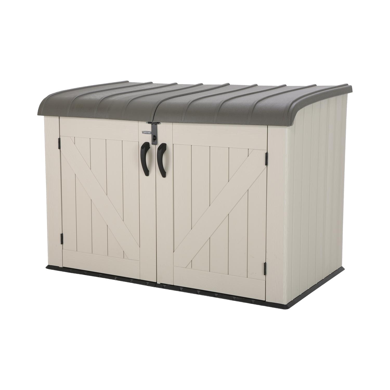 Plastový zahradní box LIFETIME HORIZONTAL (2,05 m2)