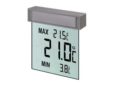 Okenní teploměr Vision digitální 105x97x23mm