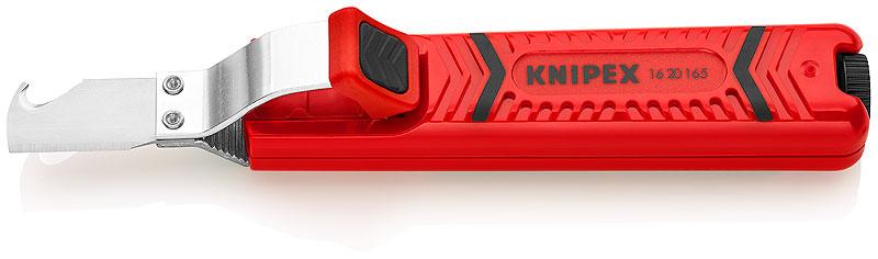 KNIPEX Nástroj na odstraňování plášťů s háčk. západkou 165mm 16 20 165