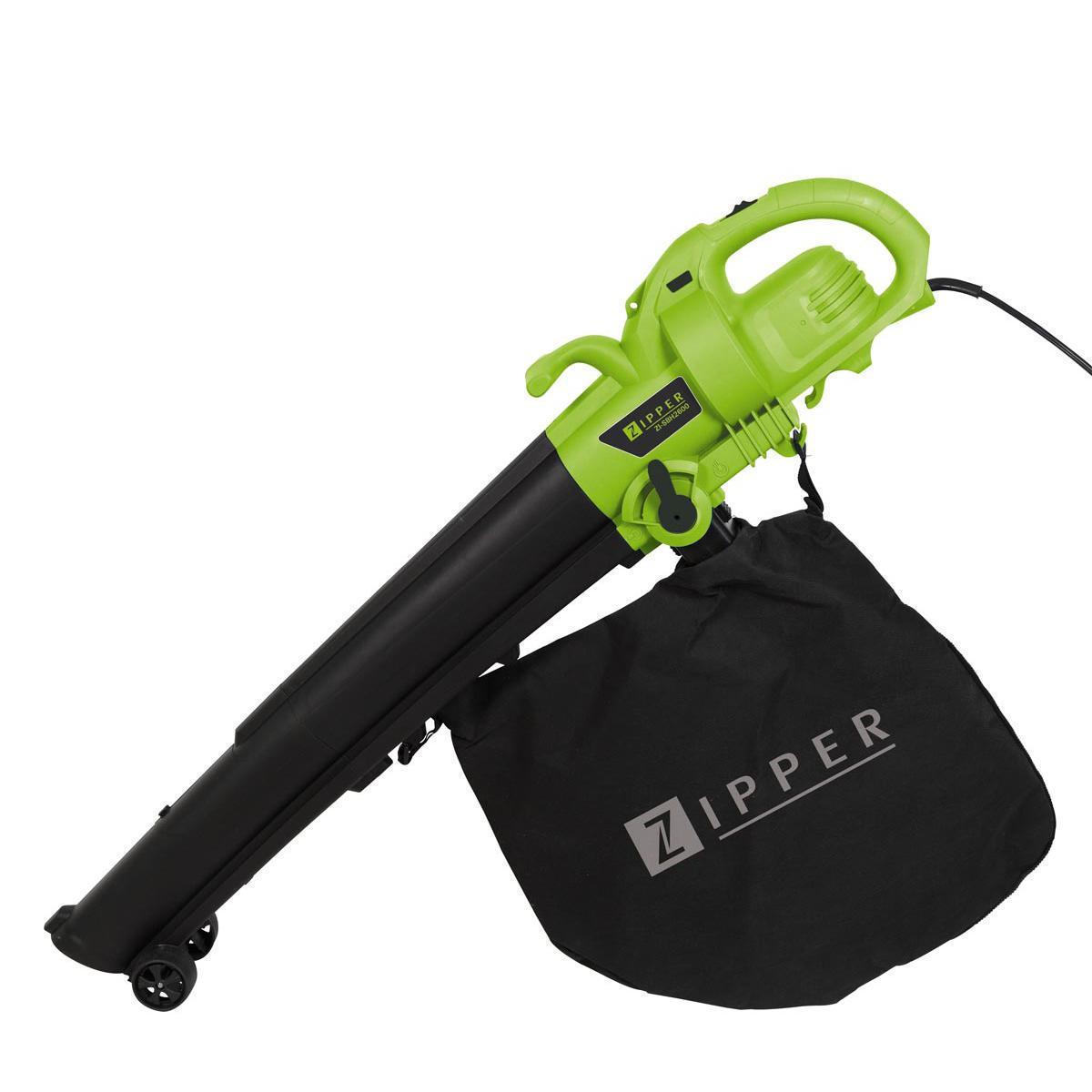 Elektrický vysavač/foukač listí Zipper ZI-SBH2600