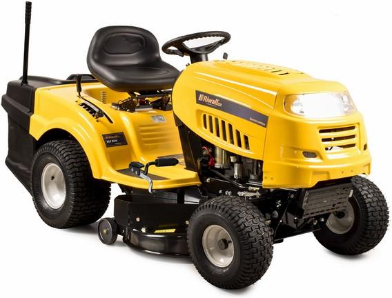 Travní traktor se zadním výhozem a hydrostatickou převodovkou Riwall PRO RLT 92 H