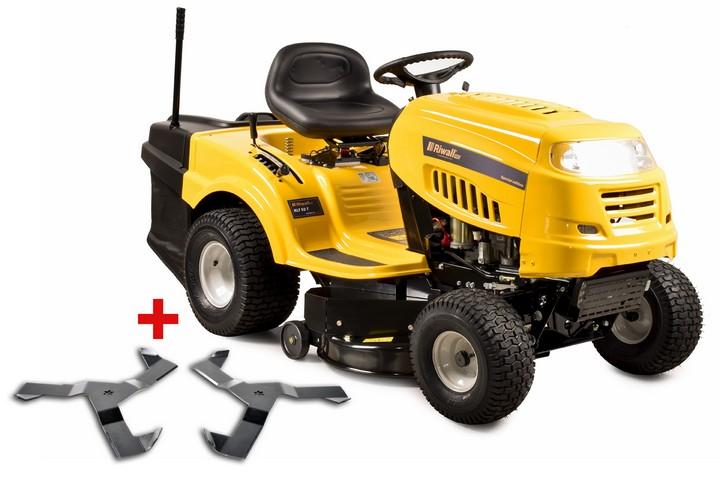 Traktor se zadním výhozem a 6-ti stup. převodovkou Transmatic Riwall PRO RLT 92 Power KIT