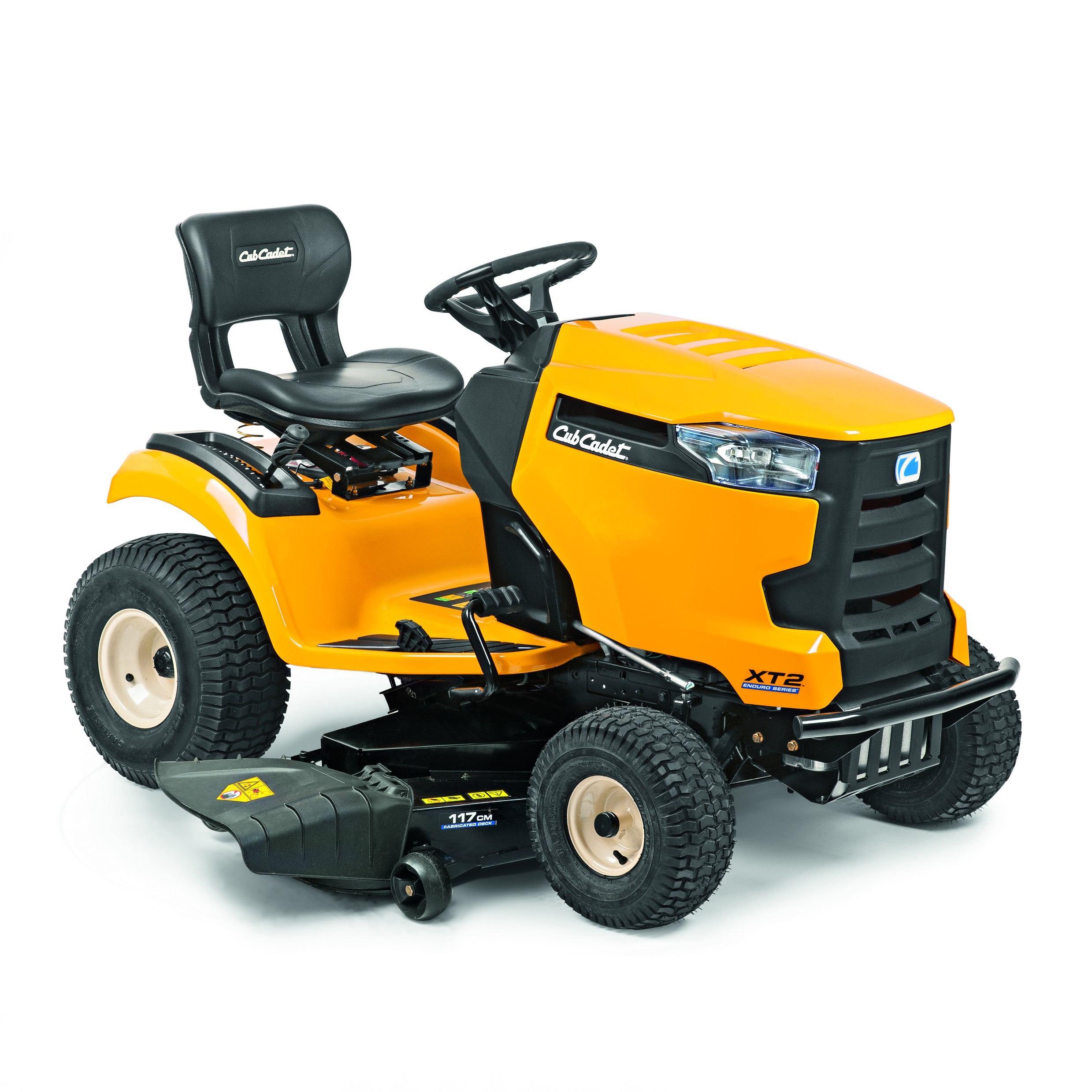 Travní traktor se bočním výhozem Cub Cadet XT2 QS117