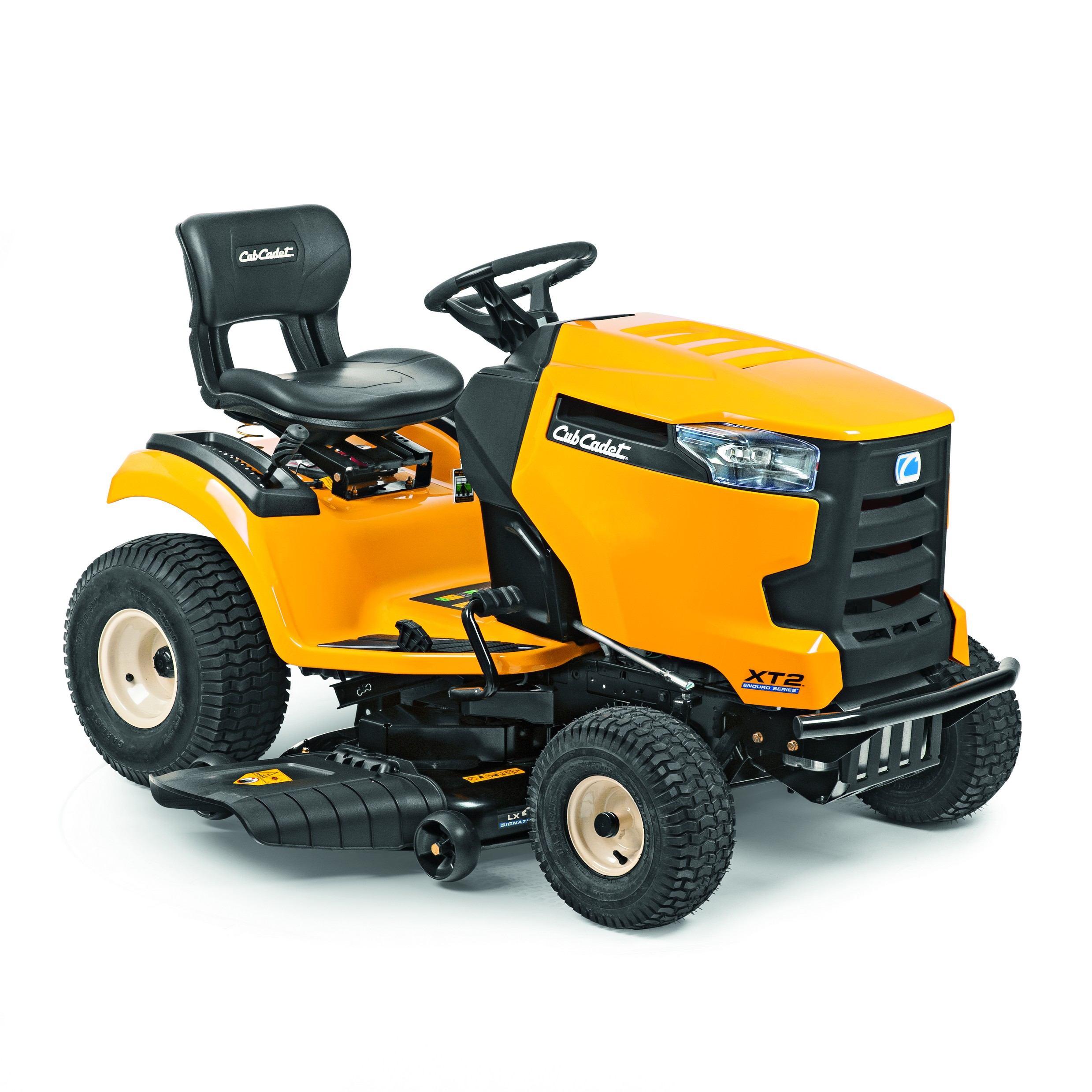 Travní traktor se bočním výhozem Cub Cadet XT2 PS107
