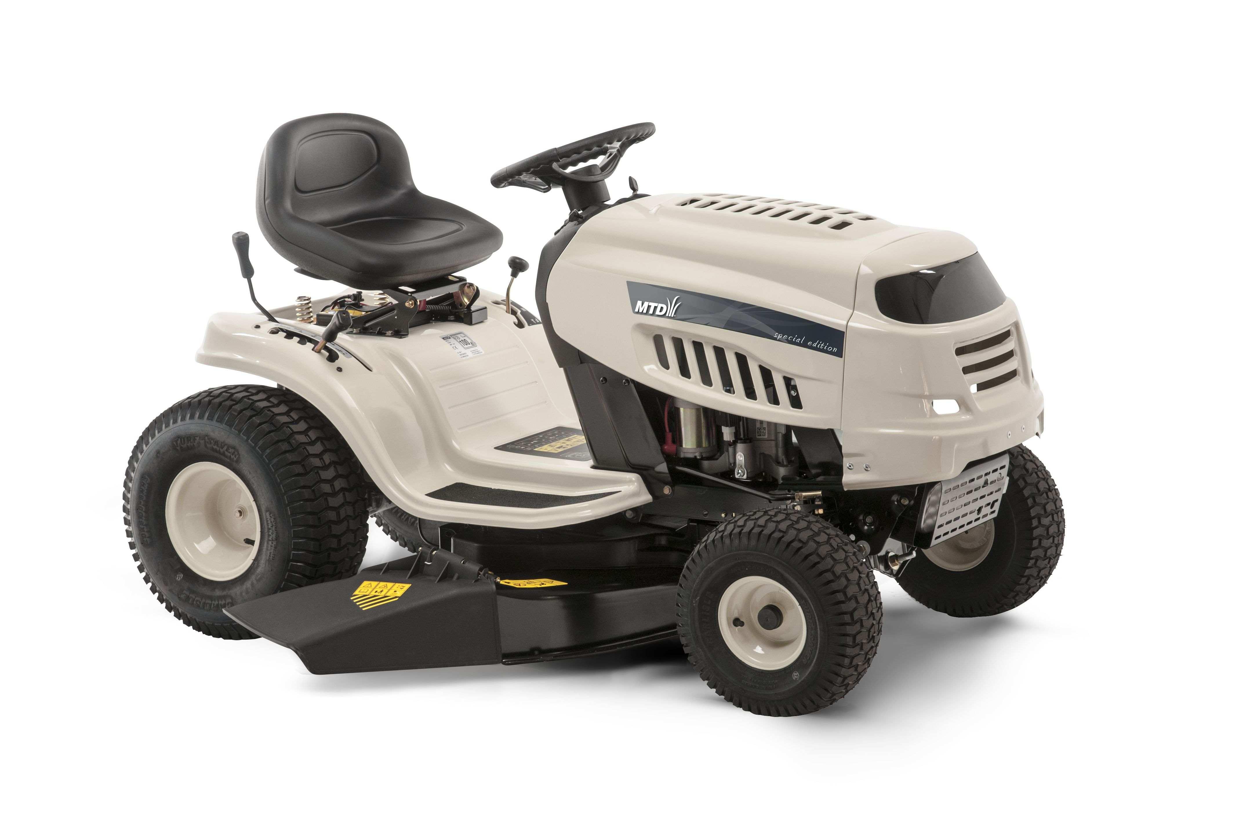 Travní traktor s bočním výhozem Beige DL 96 T MTD