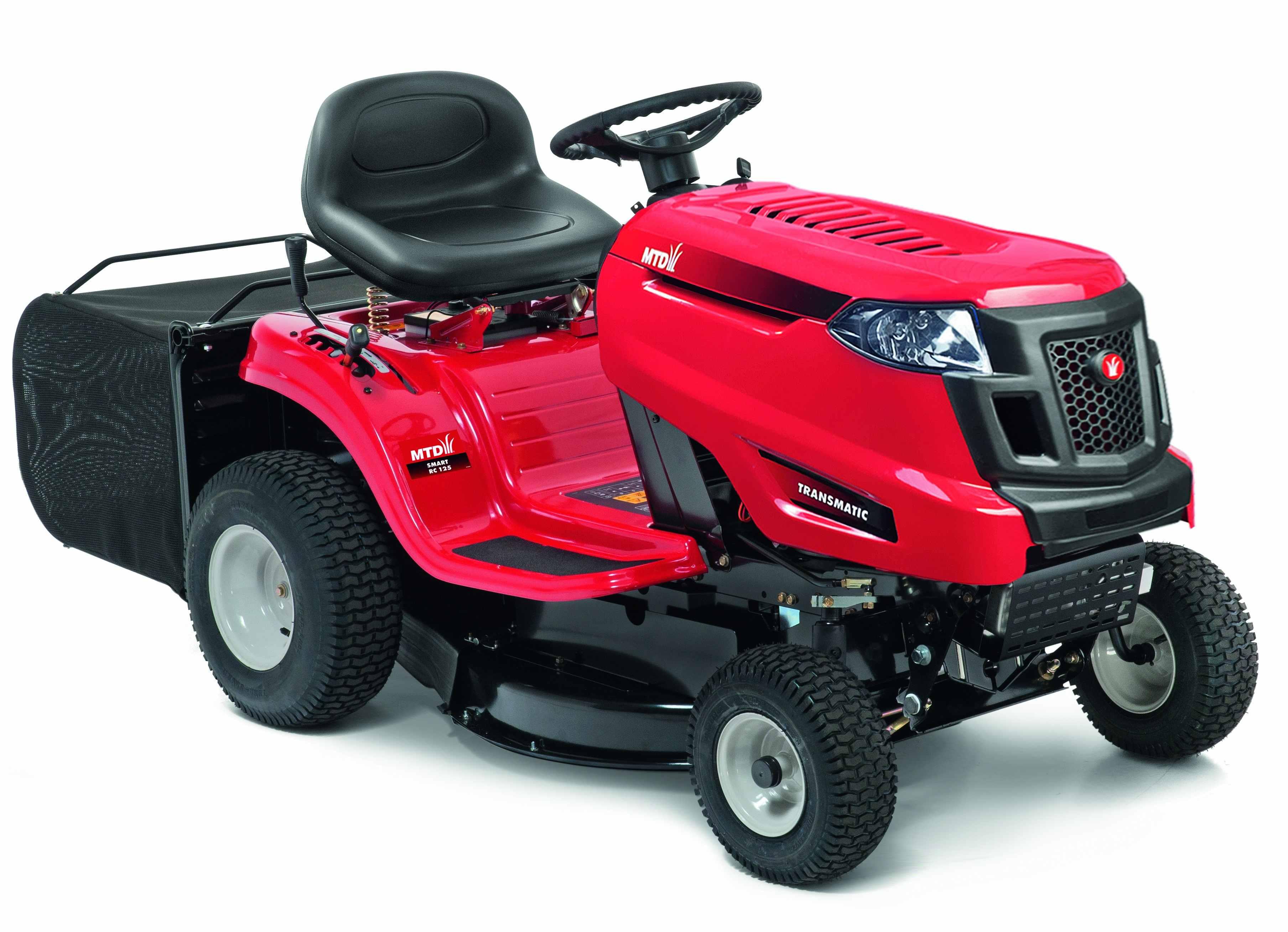 Travní traktor s zadním výhozem MTD SMART RC 125