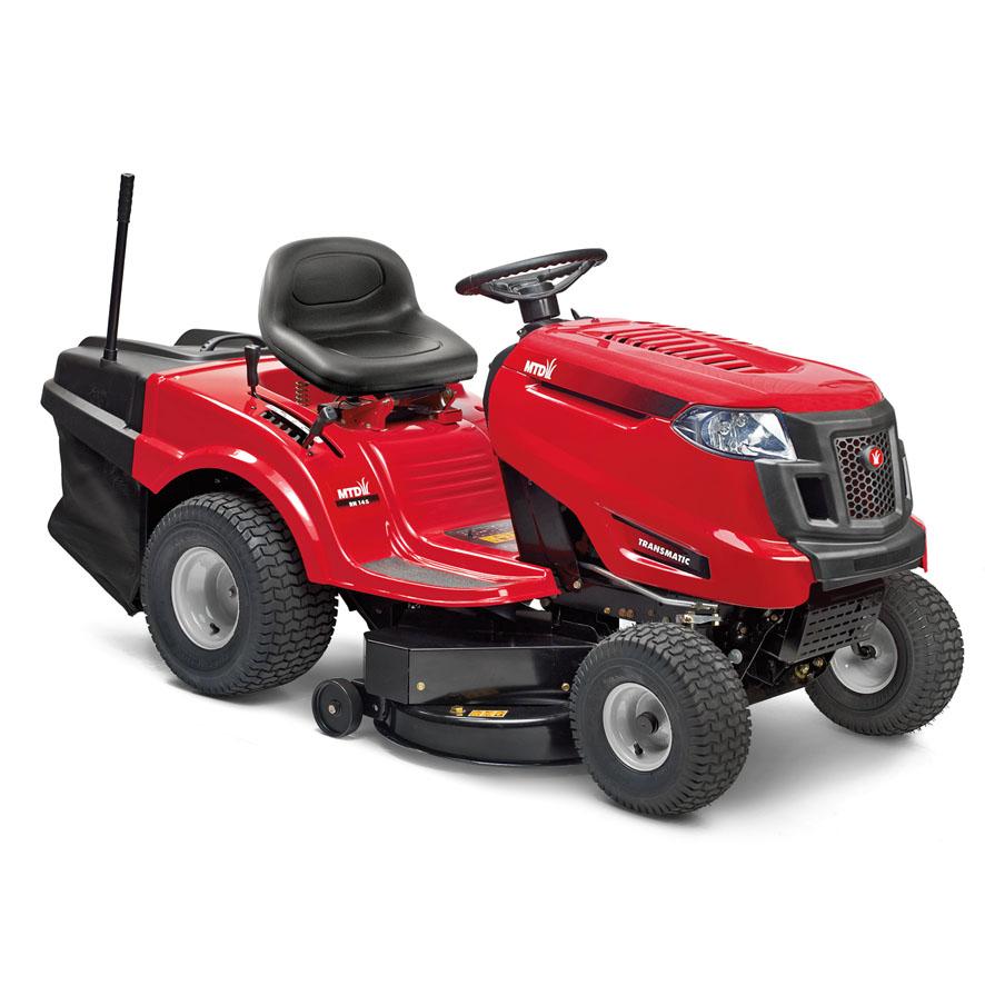 Travní traktor s zadním výhozem MTD SMART RN 145