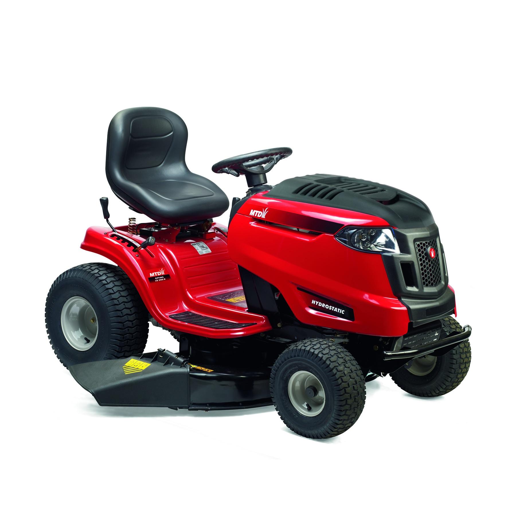 Travní traktor s bočním výhozem MTD OPTIMA LG 200 H