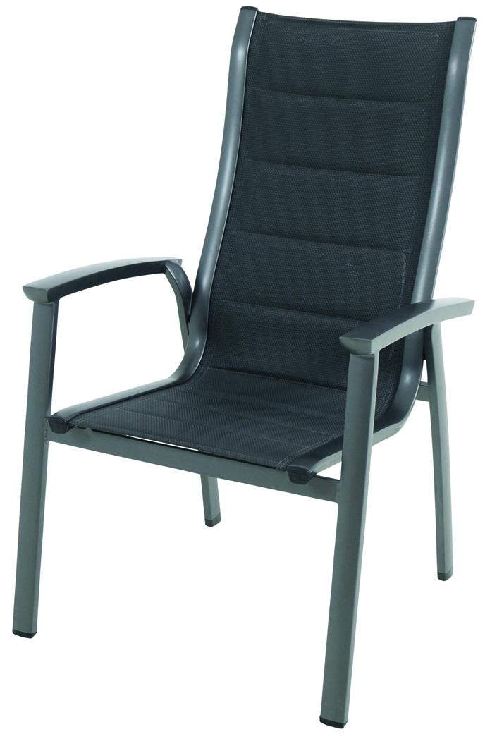 Hliníková stohovatelná židle 65 x 67 x 108,5 cm Royal Garden Royal Richmond GARLAND