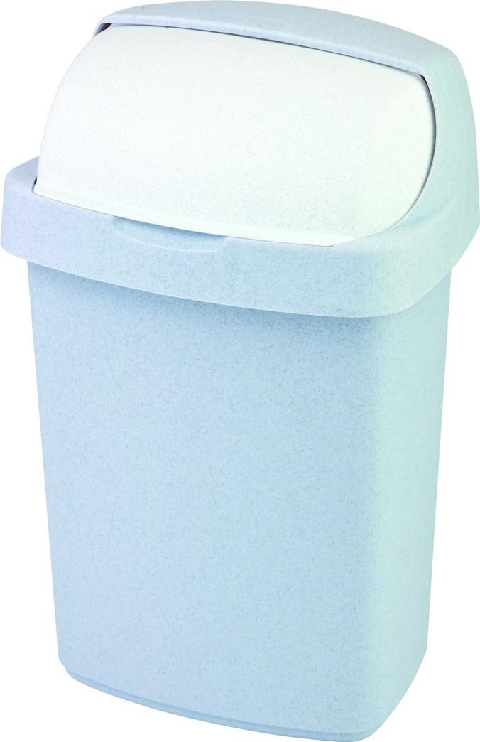 Curver odpadkový koš, ROLL TOP, šedý, 25l