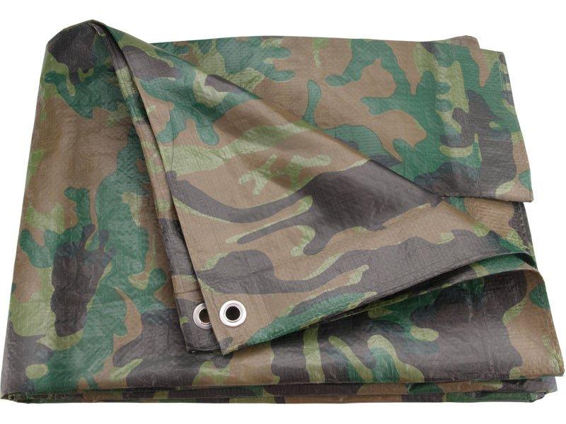 Plachta zakrývací 10x15m 100g/m2 maskovací EXTOL CRAFT 16110