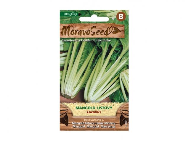 Mangold listový LUCULLUS, zelený 63400 MORAVOSEED