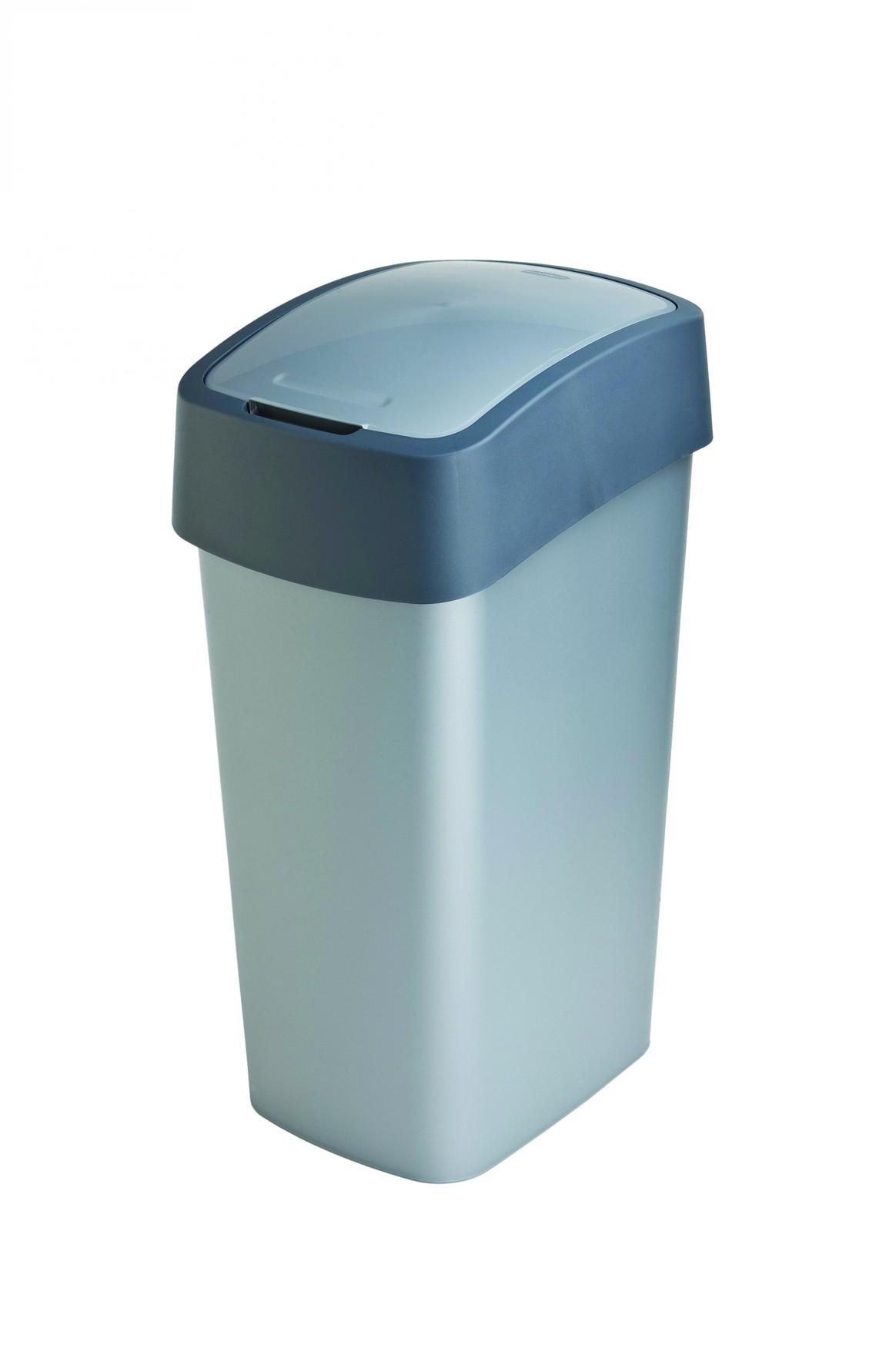 Curver odpadkový koš, FLIP BIN, šedý, 50l