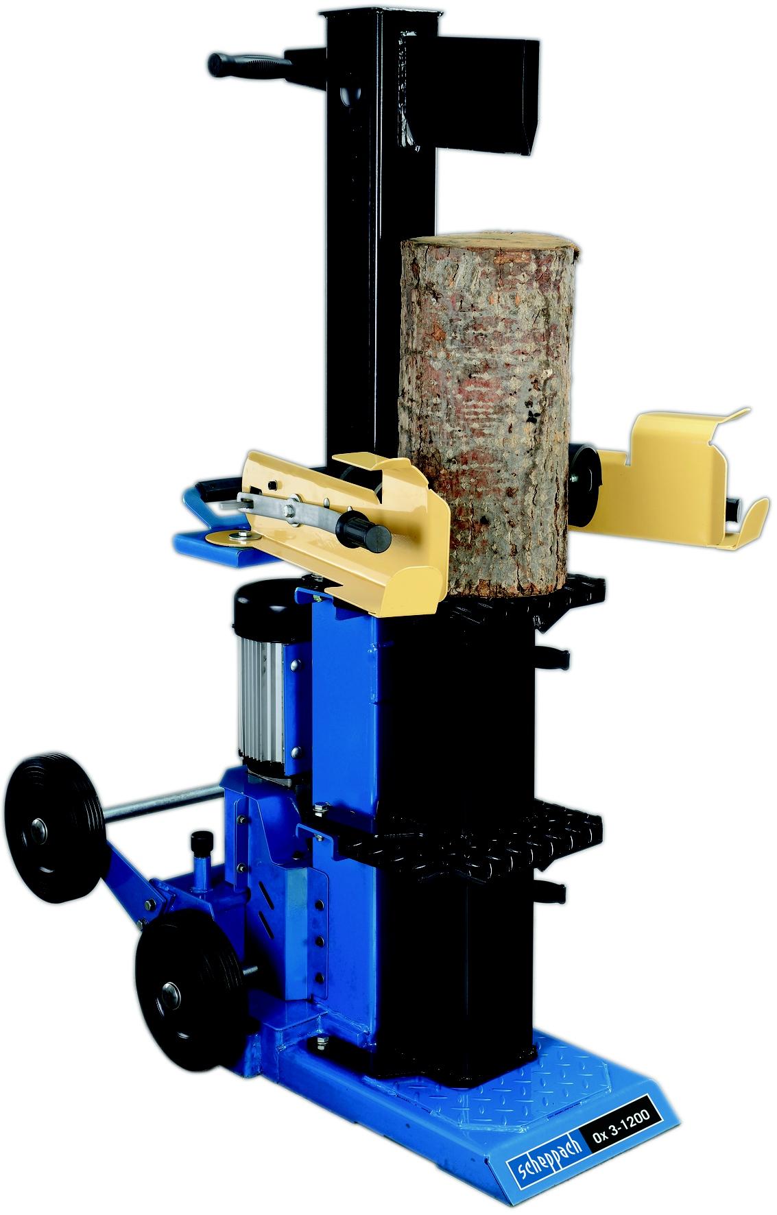 Vertikální štípač dřeva 12t Scheppach Ox 3-1200