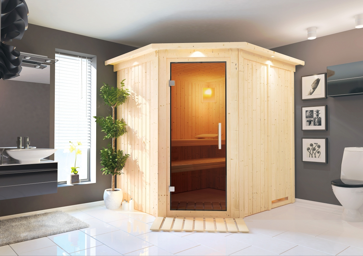 Finská sauna KARIBU SIIRIN (71376)