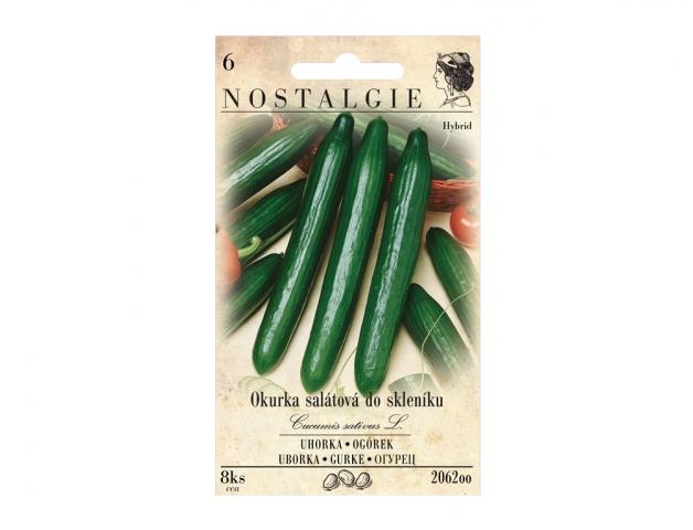 Okurka salátová MARTA F1 - hybrid, do skleníku NG NOSTALGIE