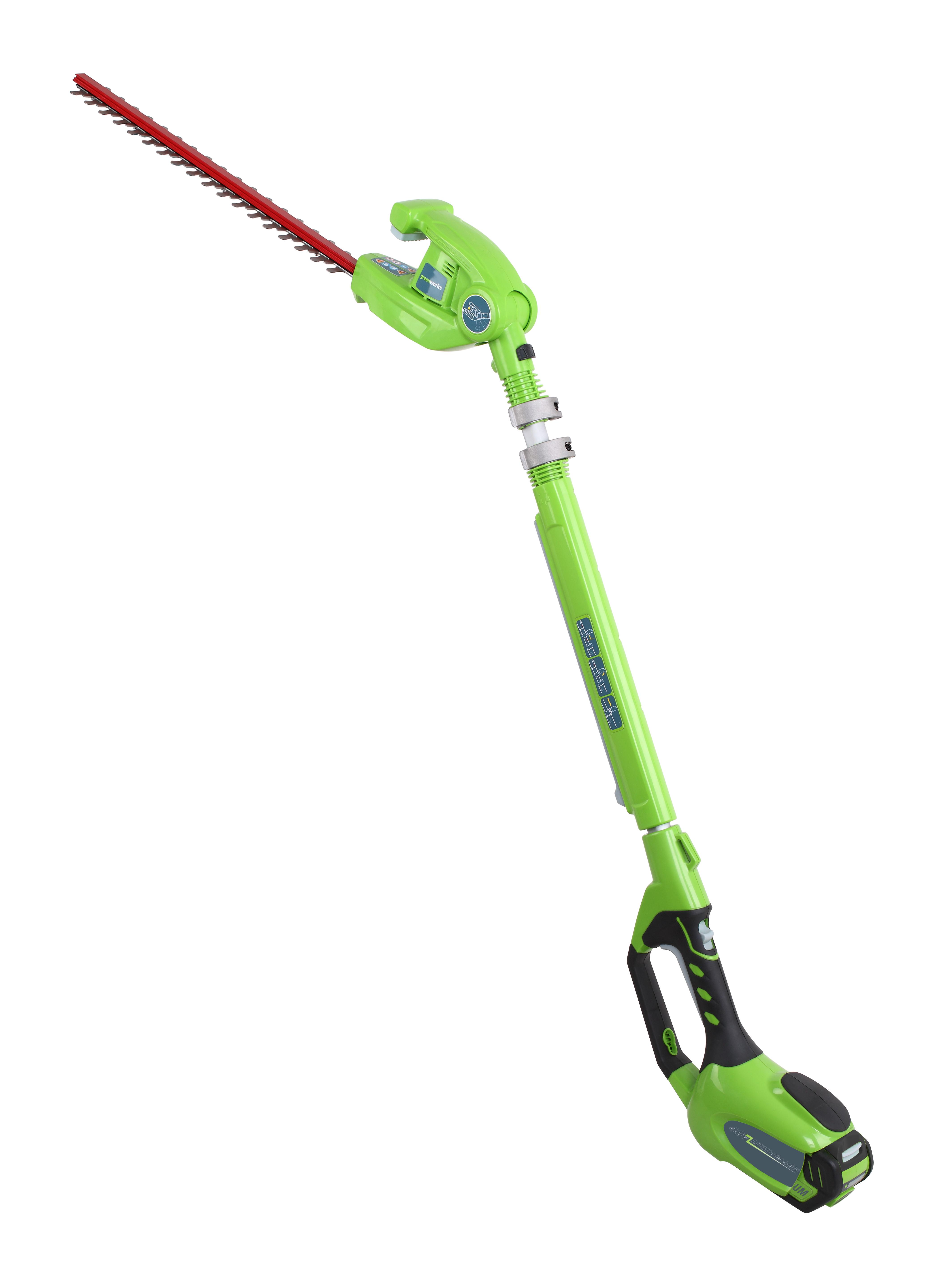 Aku 40V plotostřih 51 cm s dlouhým dosahem Greenworks G40PH51