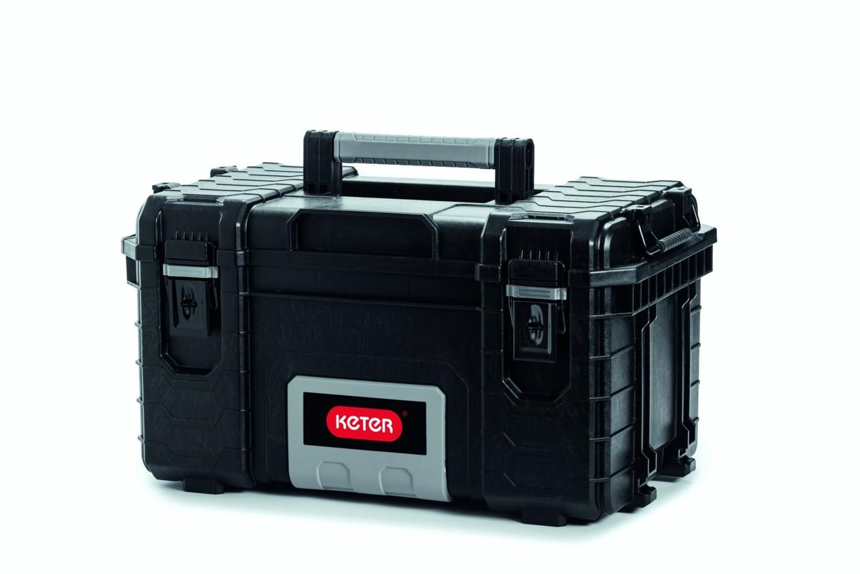 Keter Rigid kufr na nářadí černý 56,4x35x31cm