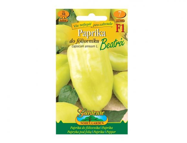 Paprika zeleninová do fóliovníku BEATRIX F1 - hybrid NG GARDENIA