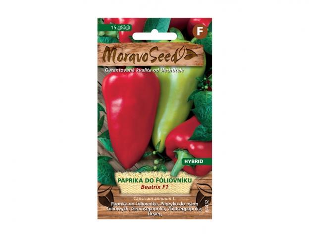 Paprika zeleninová k rychlení BEATRIX F1 - hybrid 64432 MORAVOSEED