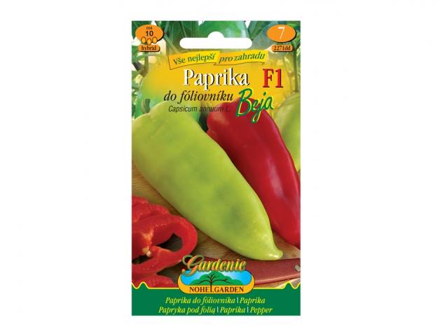 Paprika zeleninová do fóliovníku BEJA F1- hybrid NG GARDENIA