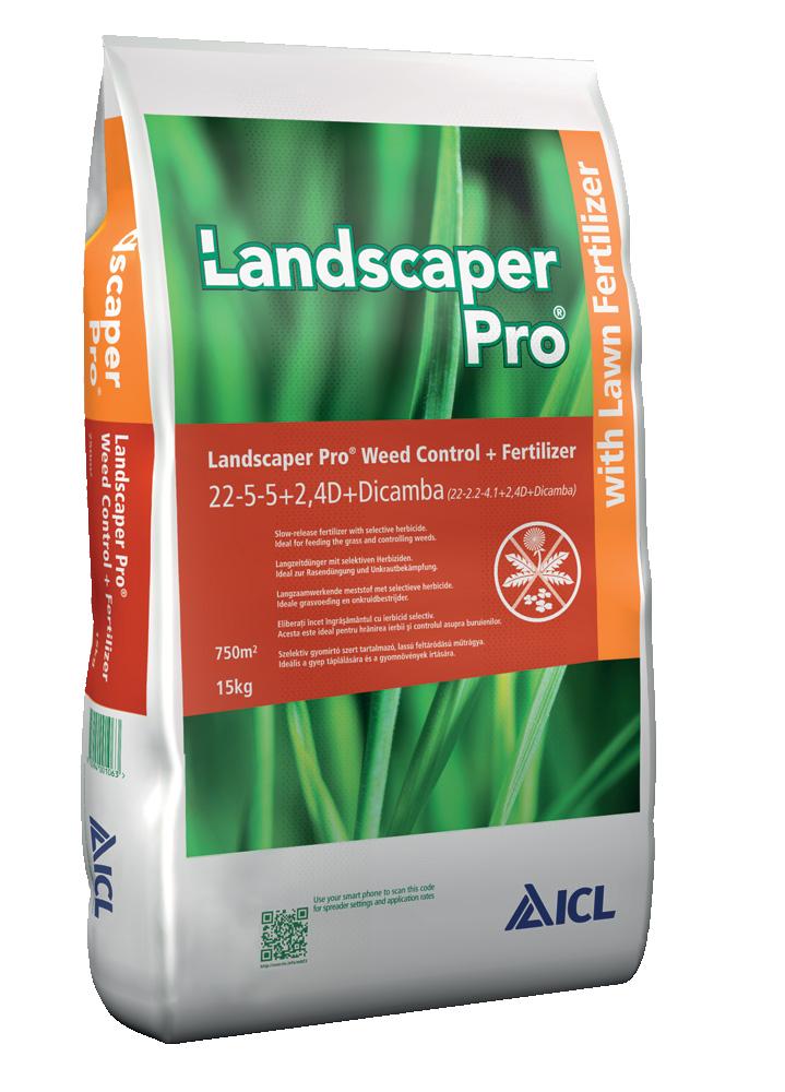 Trávníkové hnojivo s herbicidním účinkem (Landscaper Pro) 15kg