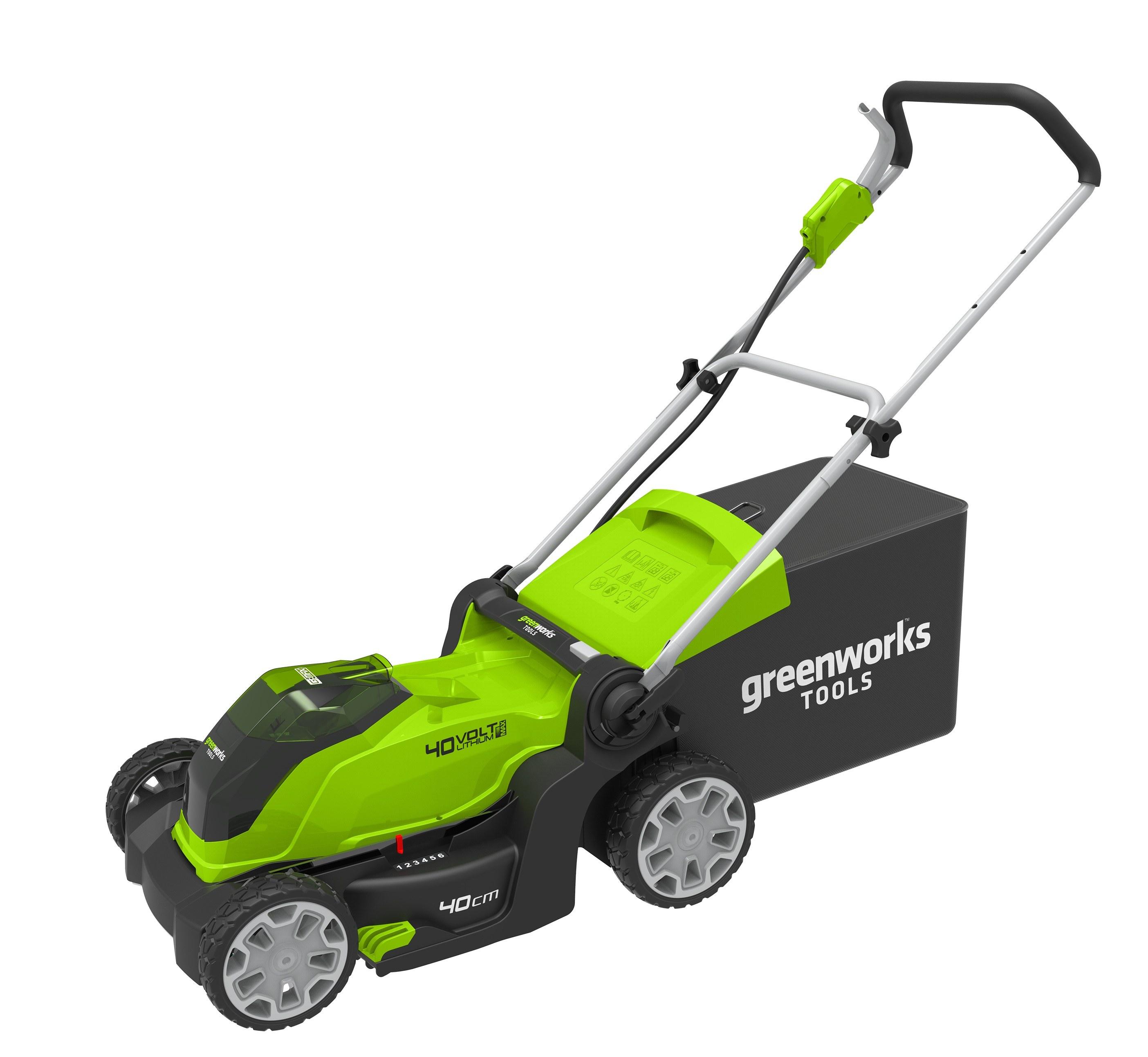 40 V aku travní sekačka 41 cm Greenworks G40LM41