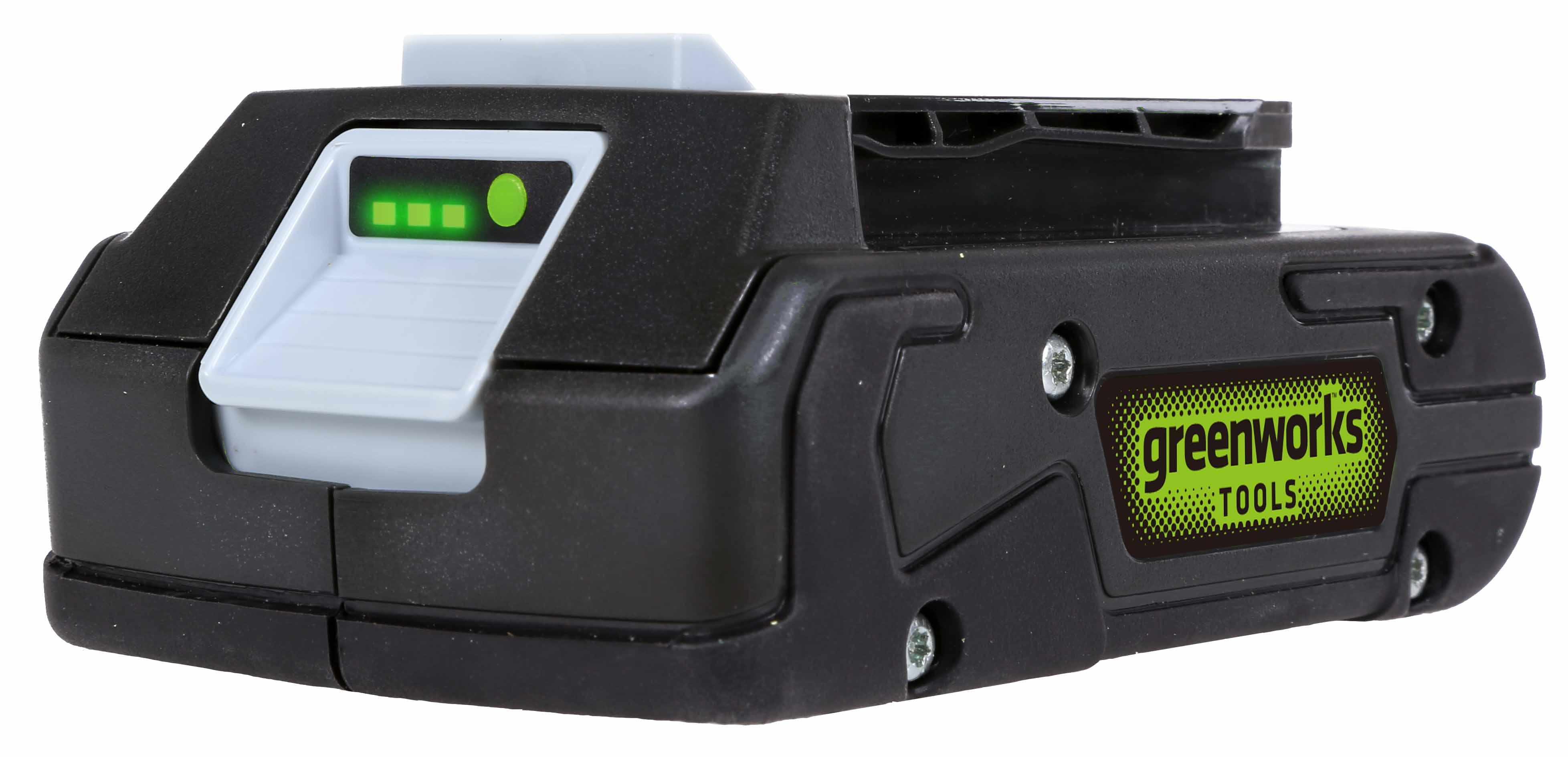 24 V lithium iontová baterie 2 Ah (krátká verze) Greenworks G24B2
