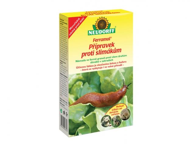 Moluskocid FERRAMOL na slimáky 1kg
