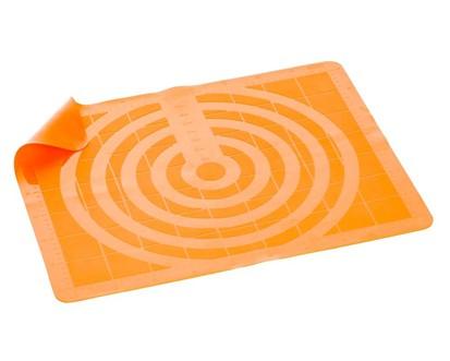 BANQUET Silikonový vál 50*40 cm Culinaria Orange, měřítkový reliéf
