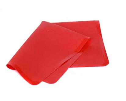 BANQUET Silikonový vál 50*40 cm Culinaria Red, měřítkový reliéf