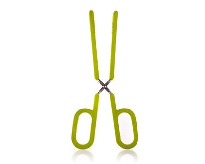 Silikonové kleště 26,5cm CULINARIA green