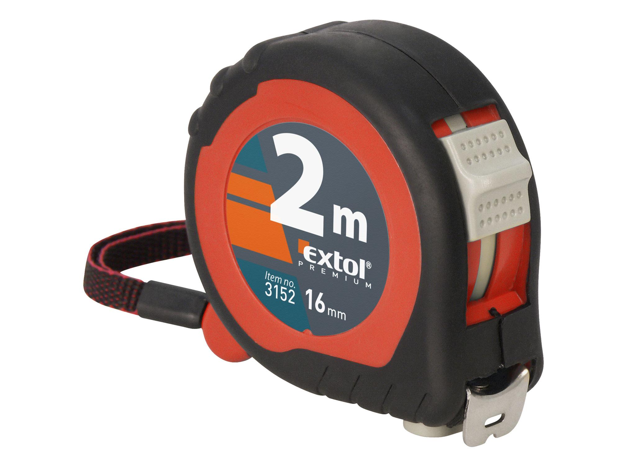 Metr svinovací, 5m, š. pásku 19mm EXTOL PREMIUM 3155