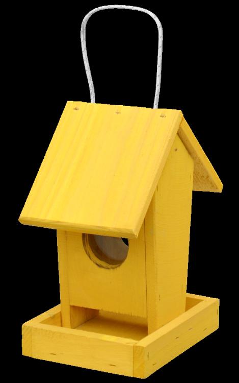 FORESTINA Krmítko pro ptáky č. 1 - závěsné žluté
