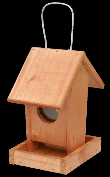 FORESTINA Krmítko pro ptáky č. 2 - závěsné hnědé