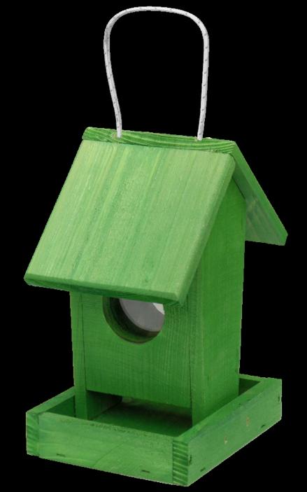 FORESTINA Krmítko pro ptáky č. 3 závěsné zelené