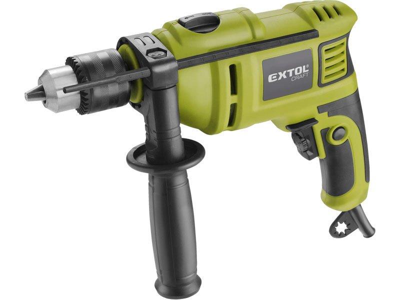 Vrtačka s příklepem, 750W, EXTOL CRAFT 401182