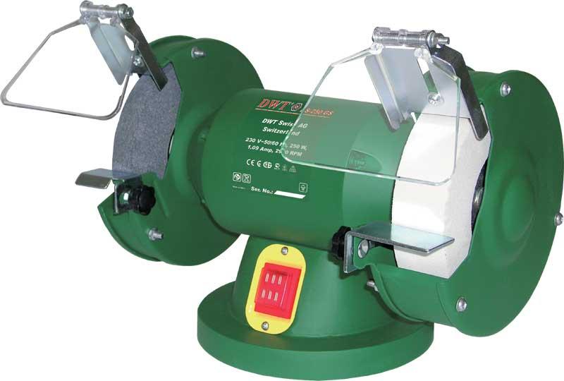 Dvoukotoučová stolní bruska DWT DS-250 GS