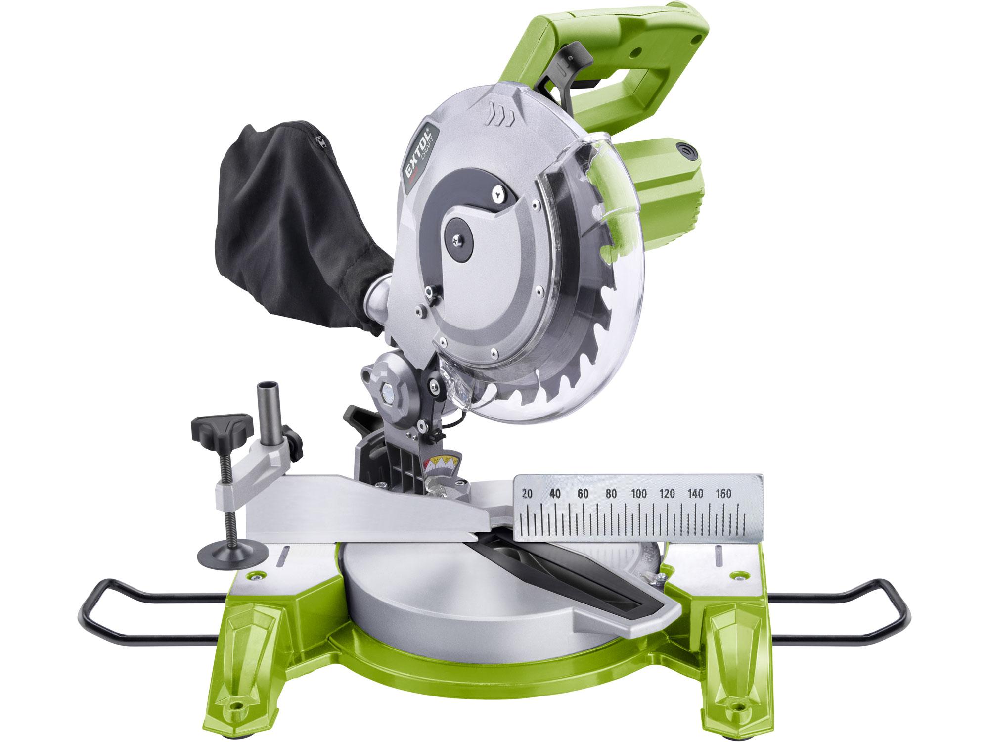 Pila pokosová s laserem, 210mm, 1450W EXTOL CRAFT 405412
