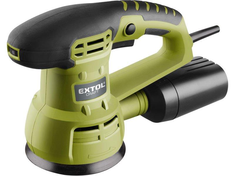 Excentrická vibrační bruska 430W 125mm EXTOL CRAFT 407202