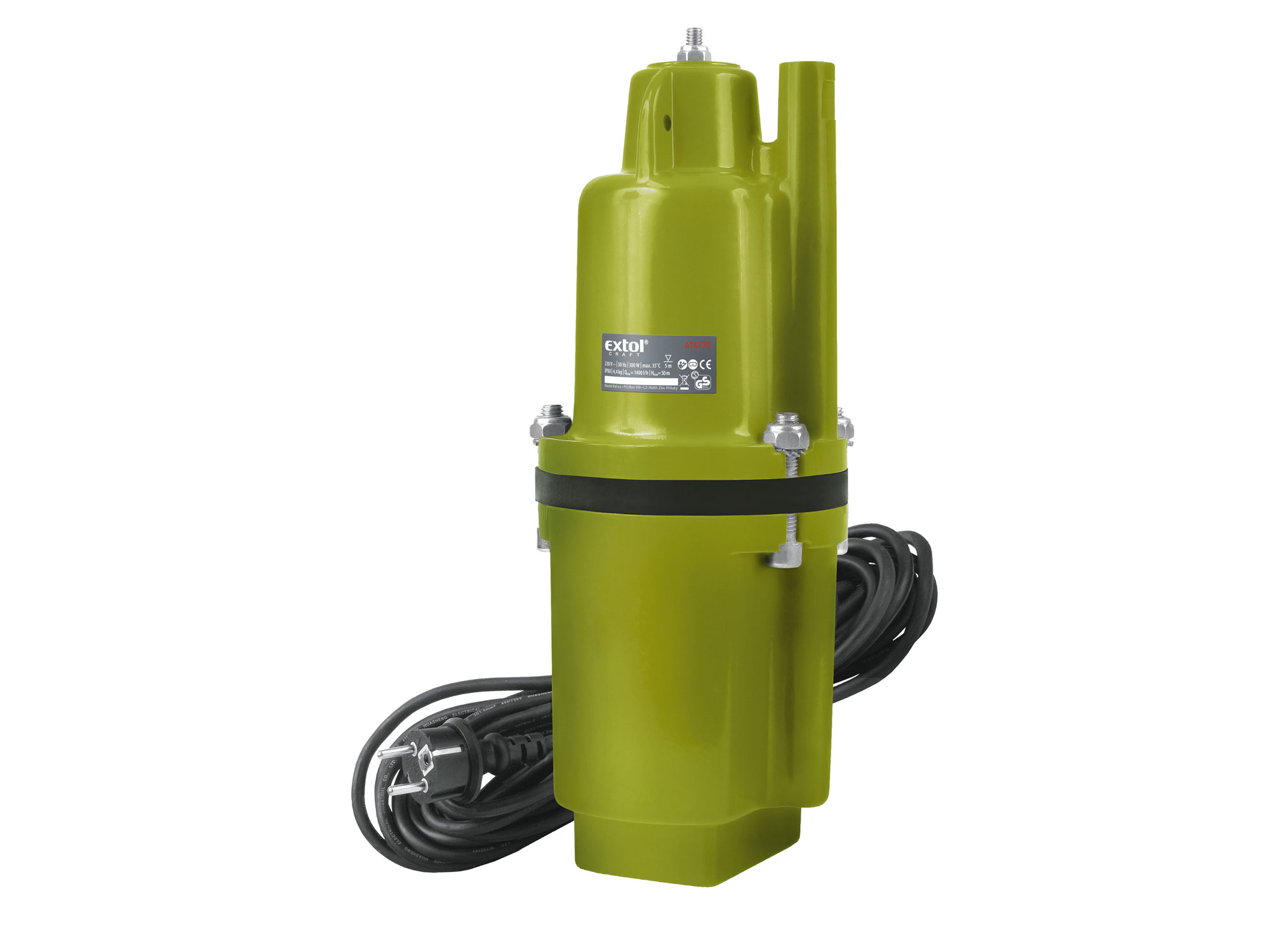Hlubinné ponorné čerpadlo do studní a vrtů EXTOL CRAFT 300W 414170