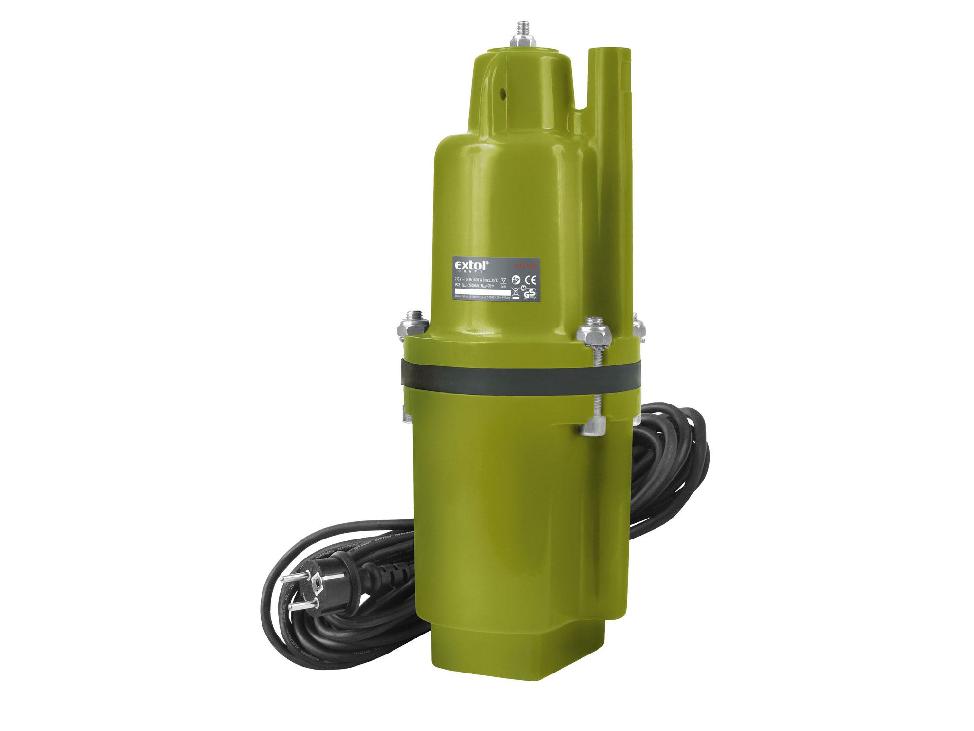 Čerpadlo membránové hlubinné ponorné 414175 EXTOL CRAFT