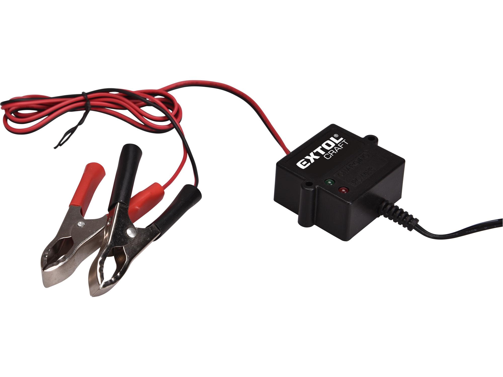 Autonabíječka udržovací, 12V, 500mA EXTOL CRAFT 417302