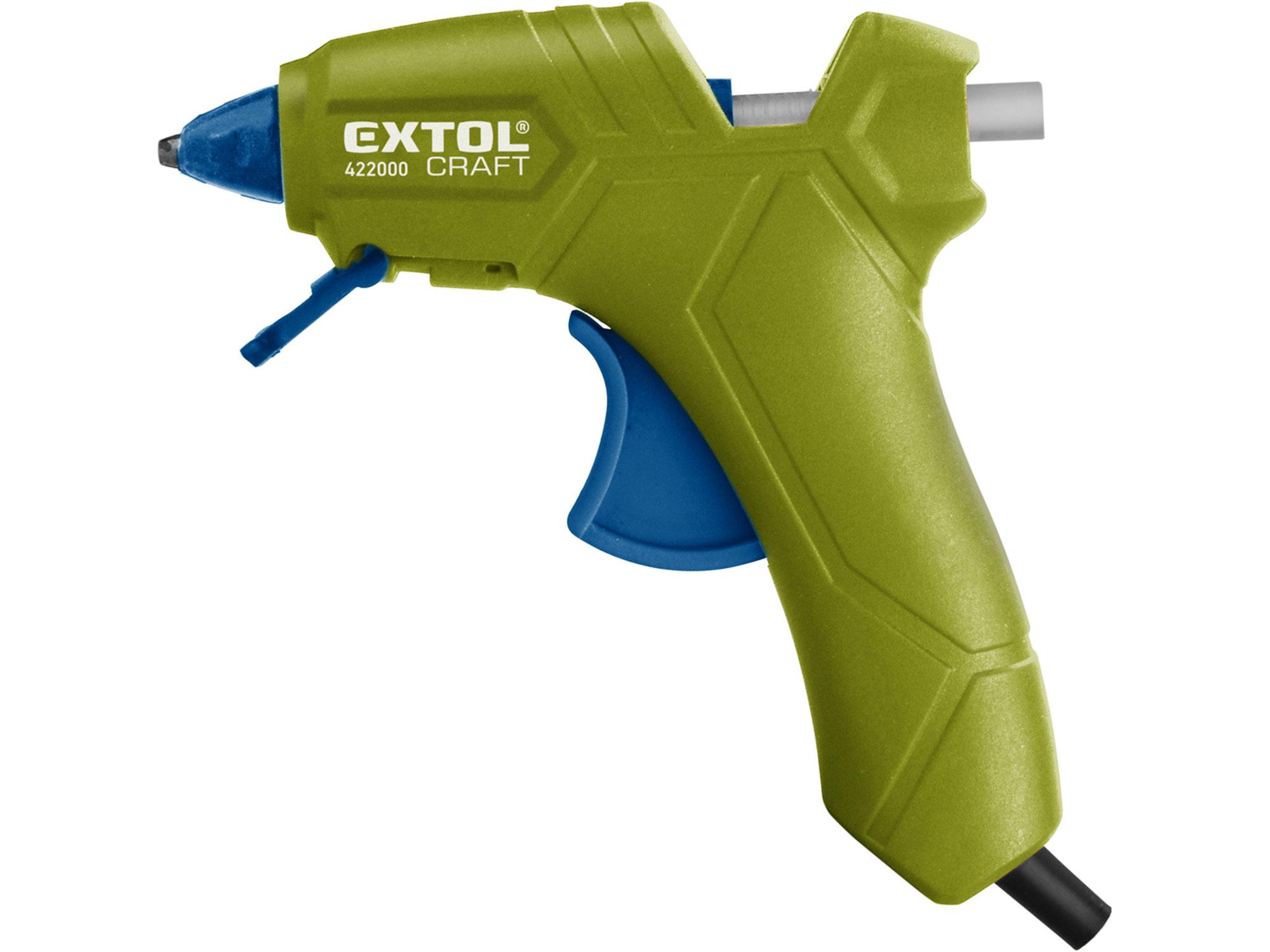 Pistole tavná lepící, Ř7,2mm, 25W EXTOL CRAFT 422000